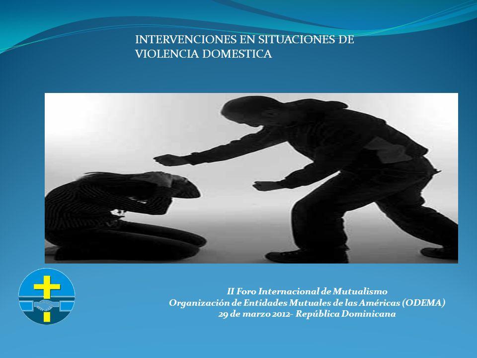 II Foro Internacional de Mutualismo Organización de Entidades Mutuales de las Américas (ODEMA) 29 de marzo 2012- República Dominicana Art.