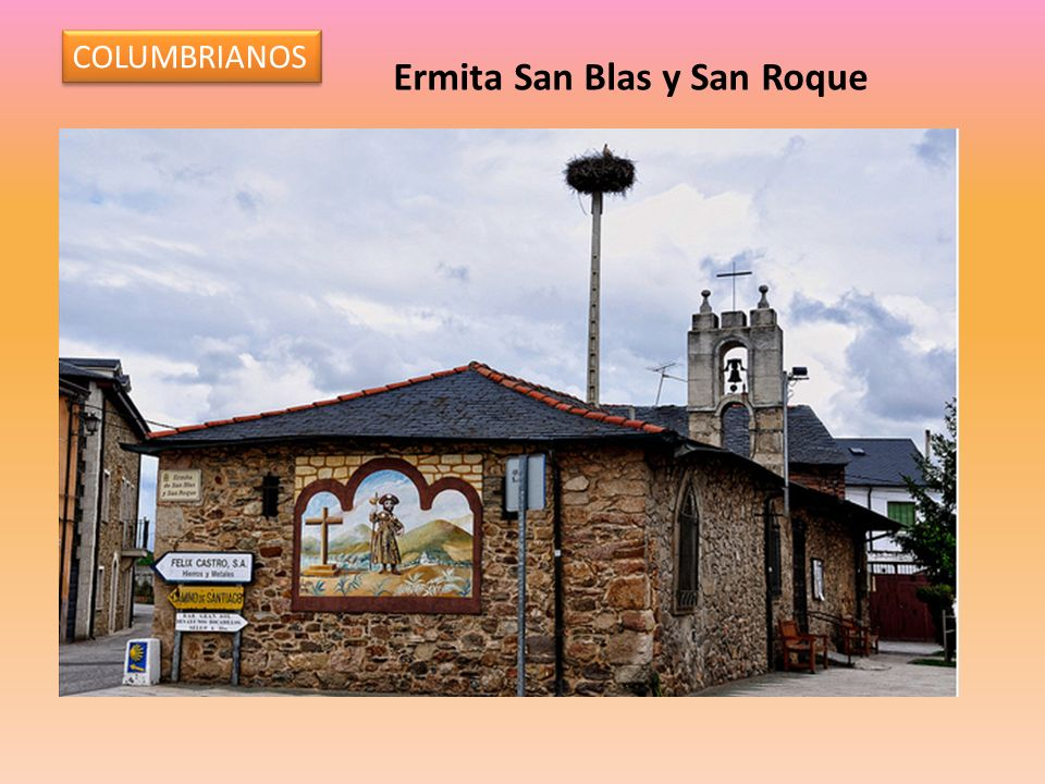 COLUMBRIANOS Ermita San Blas y San Roque