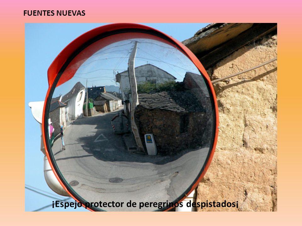 ¡Espejo protector de peregrinos despistados¡ FUENTES NUEVAS