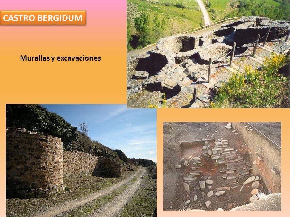 CASTRO BERGIDUM Murallas y excavaciones