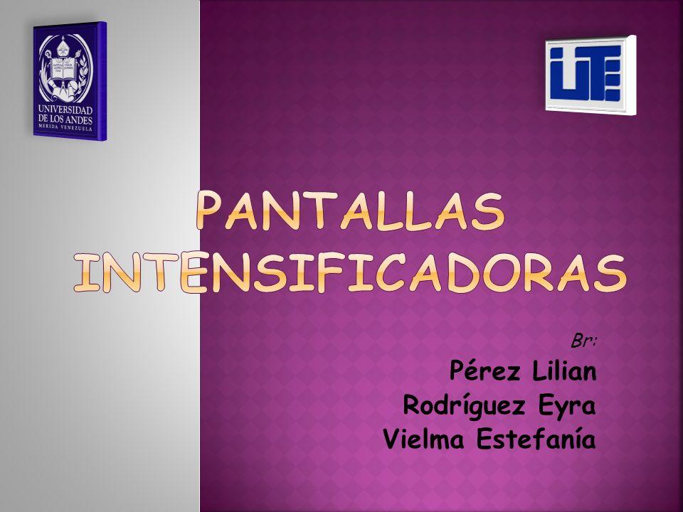 Br: Pérez Lilian Rodríguez Eyra Vielma Estefanía