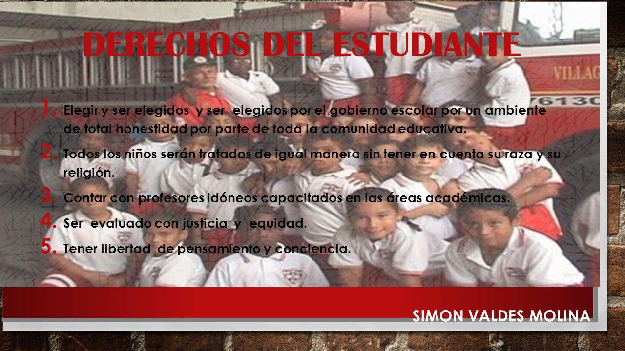 PERFIL DEL ESTUDIANTE La formación integral y en valores que fomenta la institución pretende que el estudiante amparino: Sea capaz de vivir en solidar