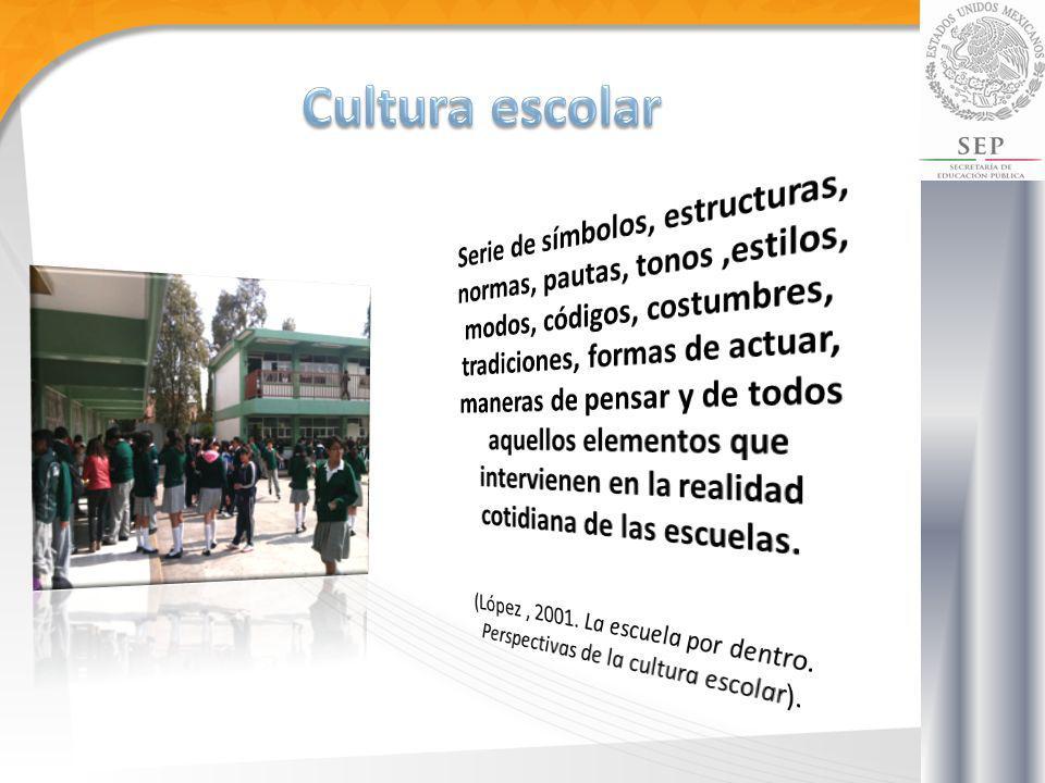 Una condición para replicar la cultura ciudadana en la escuela se encuentra en la construcción de un territorio simbólico (…).
