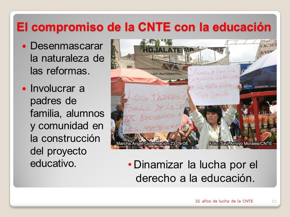 Desenmascarar la naturaleza de las reformas.