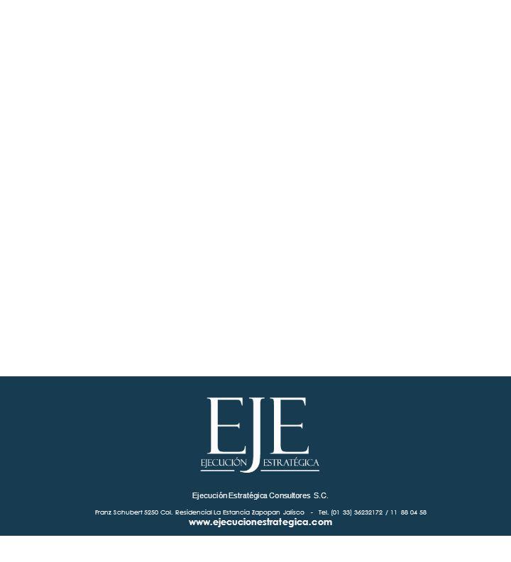 1.6 Ejecución Estratégica Consultores S.C. Franz Schubert 5250 Col.