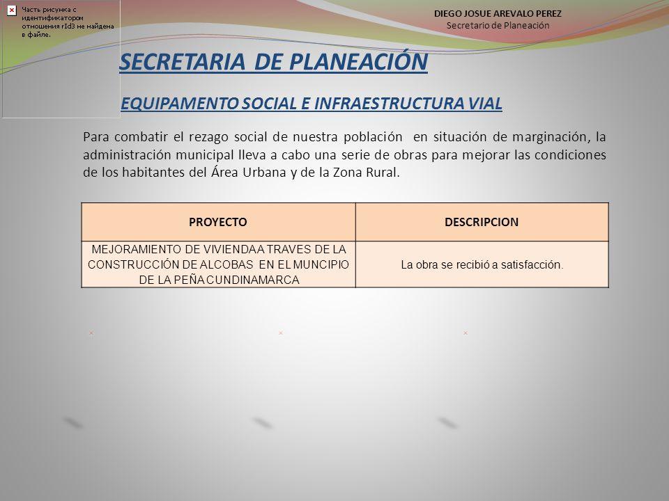EQUIPAMENTO SOCIAL E INFRAESTRUCTURA VIAL Para combatir el rezago social de nuestra población en situación de marginación, la administración municipal