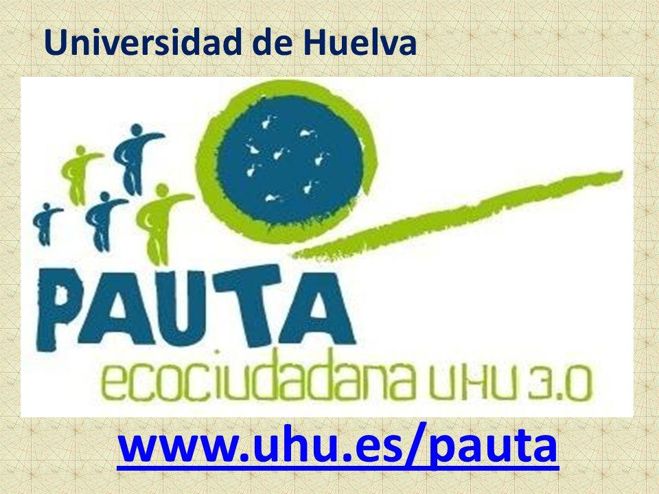 Universidad de Huelva www.uhu.es/pauta