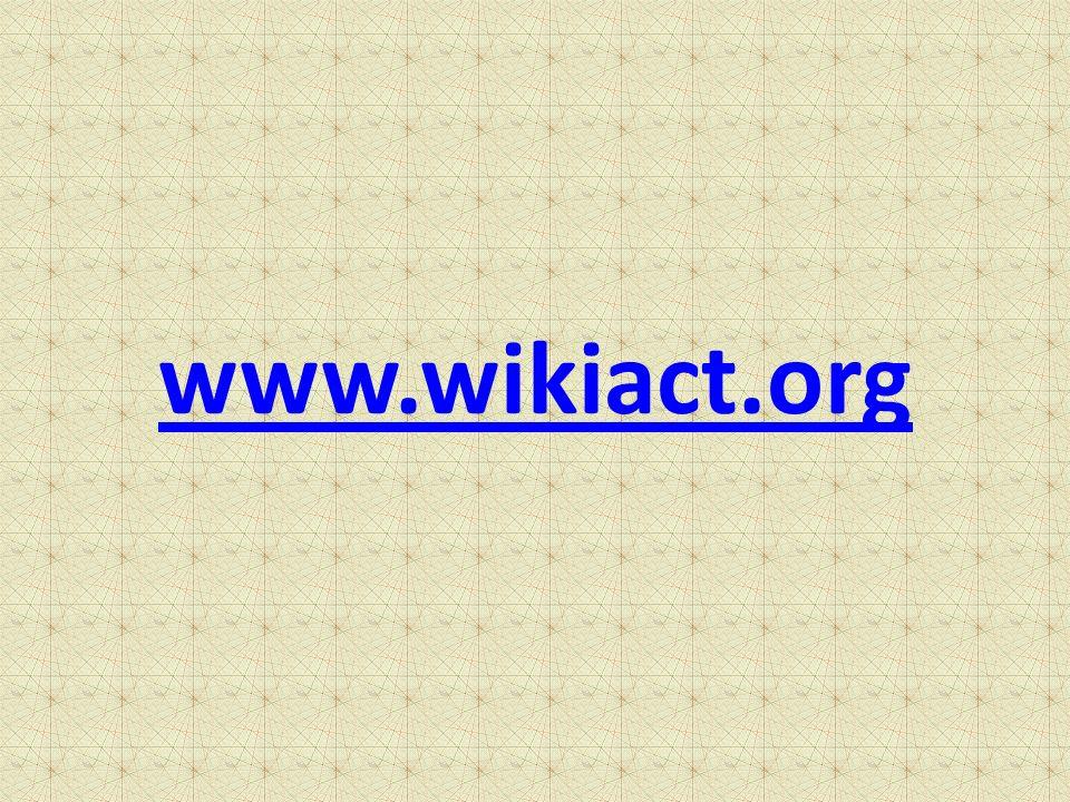 www.wikiact.org