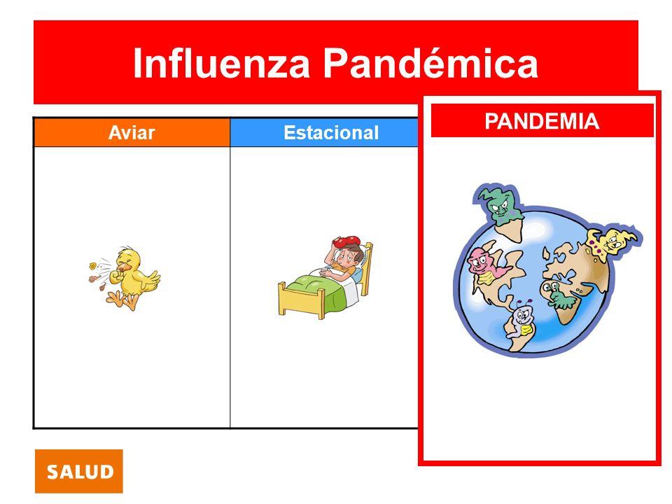 ¿Qué es la influenza pandémica.
