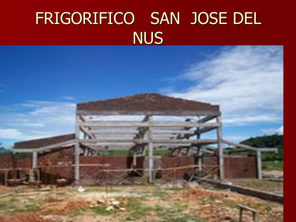 FRIGORIFICO SAN JOSE DEL NUS