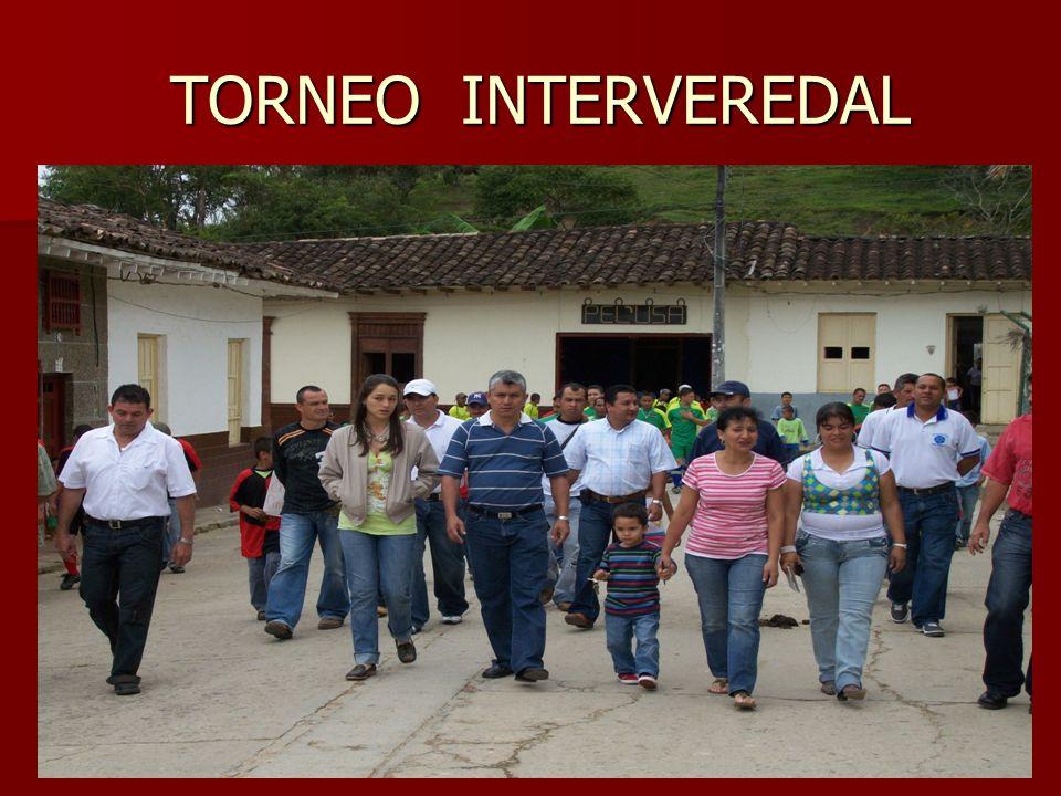 TORNEO INTERVEREDAL TORNEO INTERVEREDAL