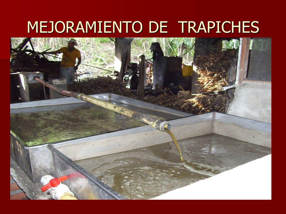 MEJORAMIENTO DE TRAPICHES