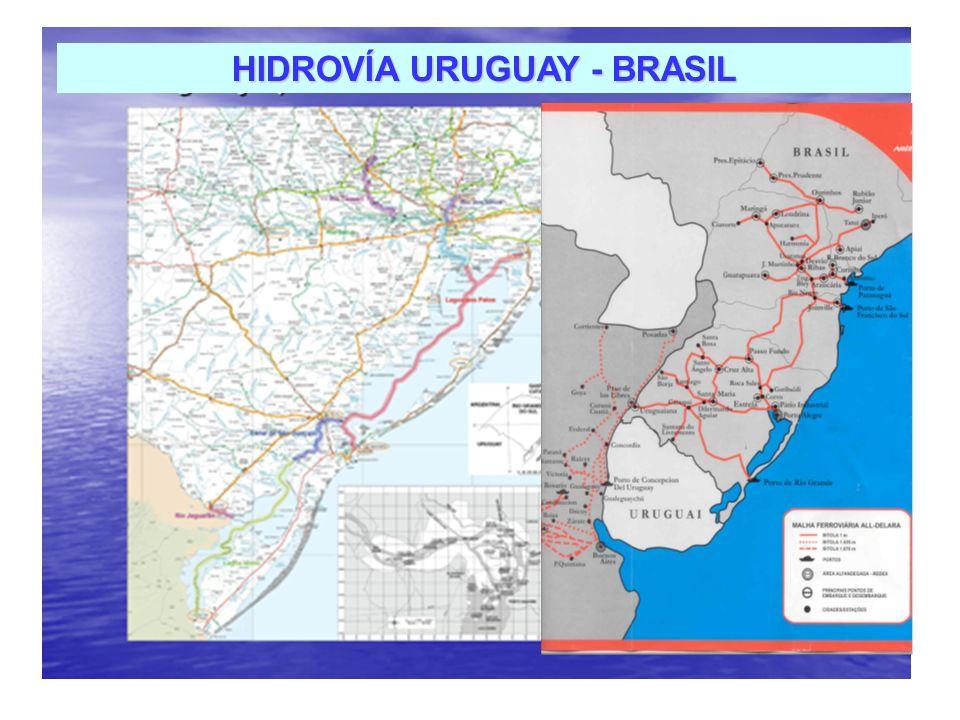 HIDROVÍA URUGUAY - BRASIL