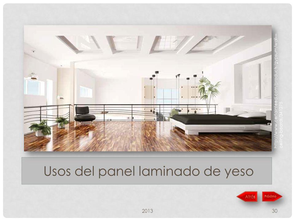 201330 Usos del panel laminado de yeso http://www.certainteed.com/products/gypsum/wall--- ceiling-boards/341275