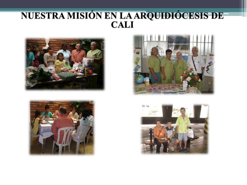 NUESTRA MISIÓN EN LA ARQUIDIÓCESIS DE CALI