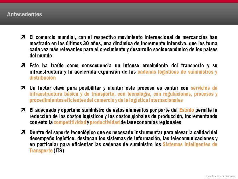 José San Martín Romero Producto Mundial Bruto = 67.5 trillones de dólares Participación por Regiones del Producto Mundial Bruto 2011 Medio Oriente 3.4% $2.3 África 2.3% $1.5 Europa del Este 3.7% $2.5 Centro y Sudamérica 5.2% $3.5 Asia 30.3% $20.4 Norteamérica 28.2% $19.0 Unión Europea 27.1% $18.3