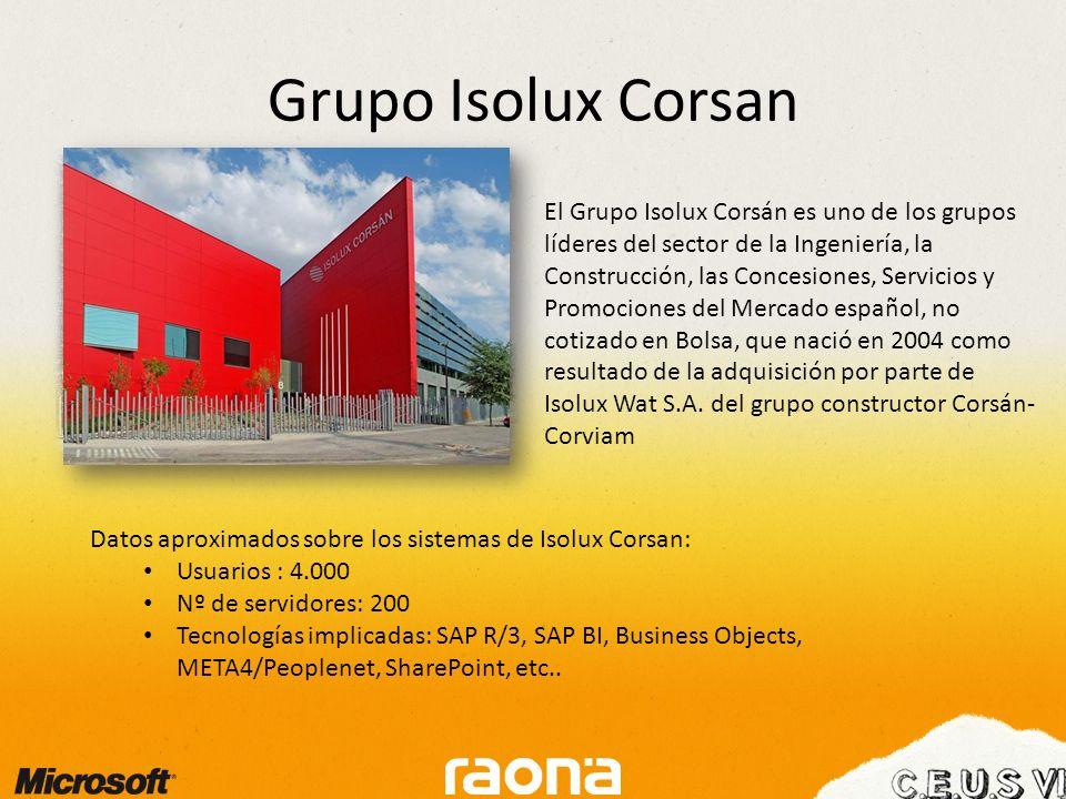 Grupo Isolux Corsan.