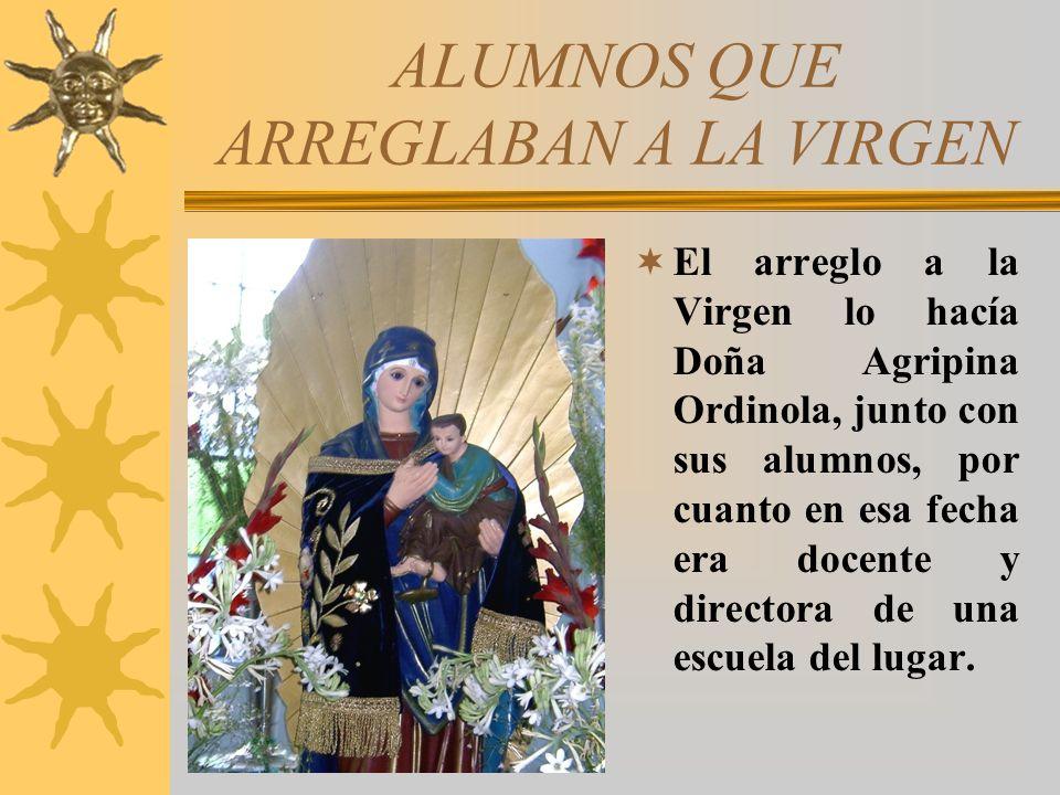 INICIO DE SU RECORRIDO Inician su recorrido de la imagen en cuadro por todos los pueblos de alrededor de Zarumilla el día 7 de setiembre hasta el día