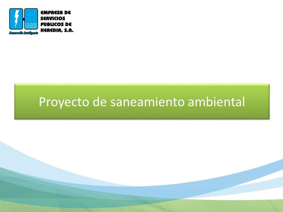 Proyecto de saneamiento ambiental