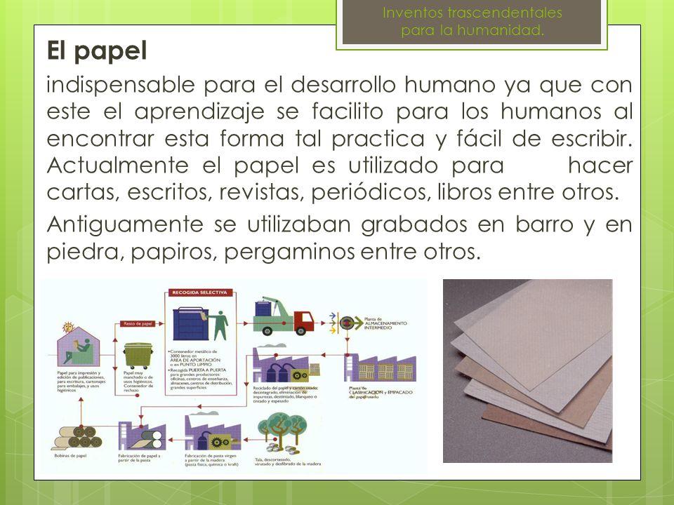 La imprenta Supuso el inicio de los modernos métodos de impresión y la reproducción de la escritura a gran escala.