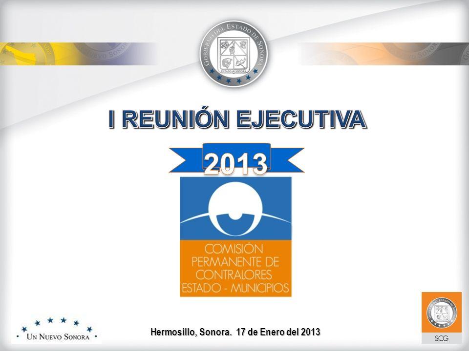 Hermosillo, Sonora. 17 de Enero del 2013