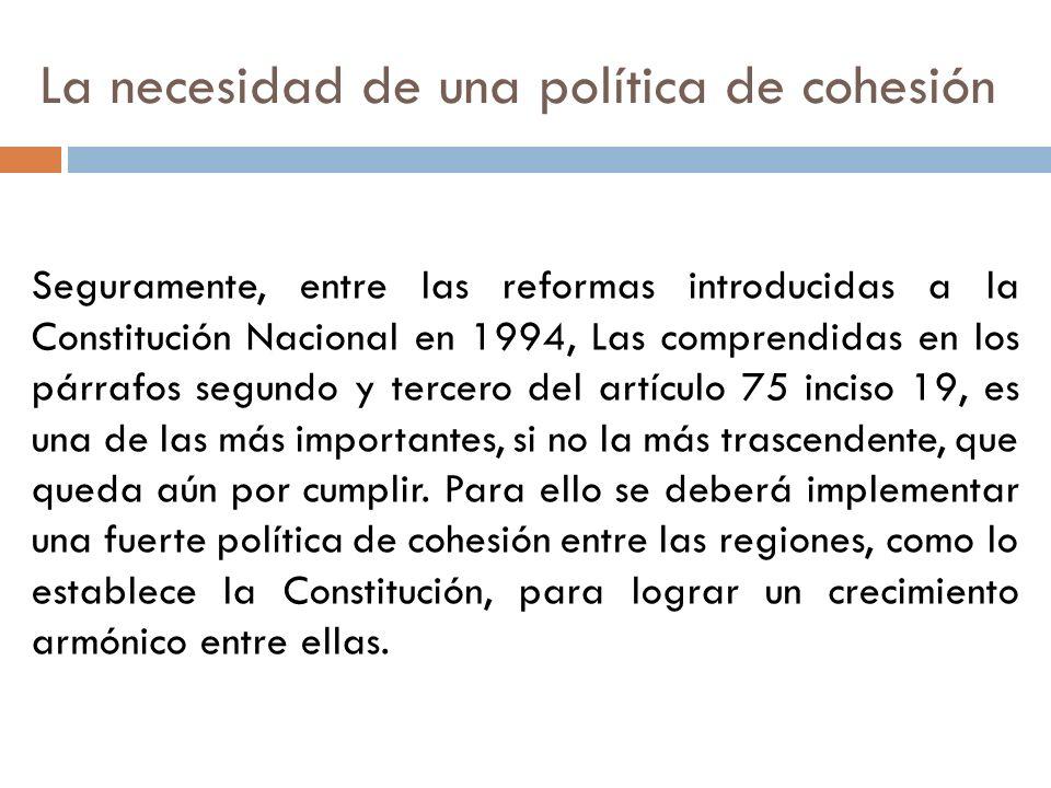 Seguramente, entre las reformas introducidas a la Constitución Nacional en 1994, Las comprendidas en los párrafos segundo y tercero del artículo 75 in