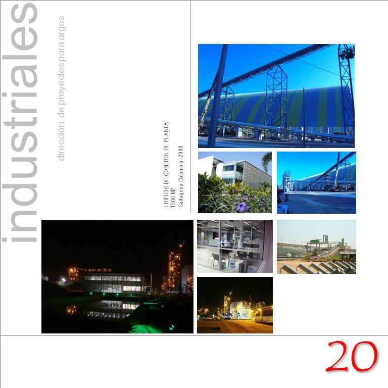 EDIFICIO DE CONTROL DE PLANTA 1500 M2 Cartagena Colombia - 2009 industriales dirección de proyectos para argos 20