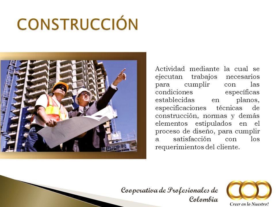 Actividad mediante la cual se determinan las características que debe tener un proyecto para cumplir sus objetivos.