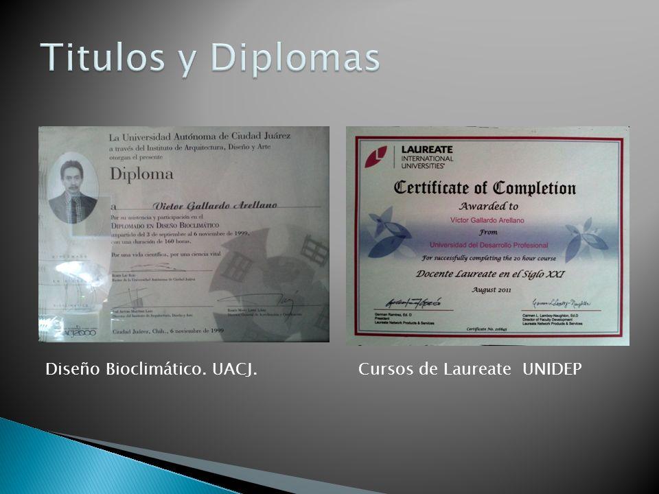 Diseño Bioclimático. UACJ.Cursos de Laureate UNIDEP