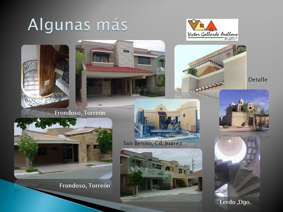 Frondoso, Torreón San Benito, Cd. Juárez Lerdo,Dgo. Frondoso, Torreón Detalle
