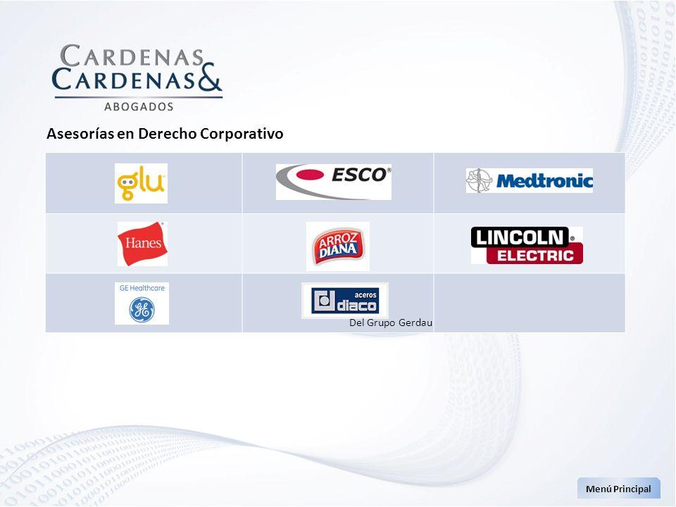 Asesorías en Derecho Corporativo Menú Principal Del Grupo Gerdau