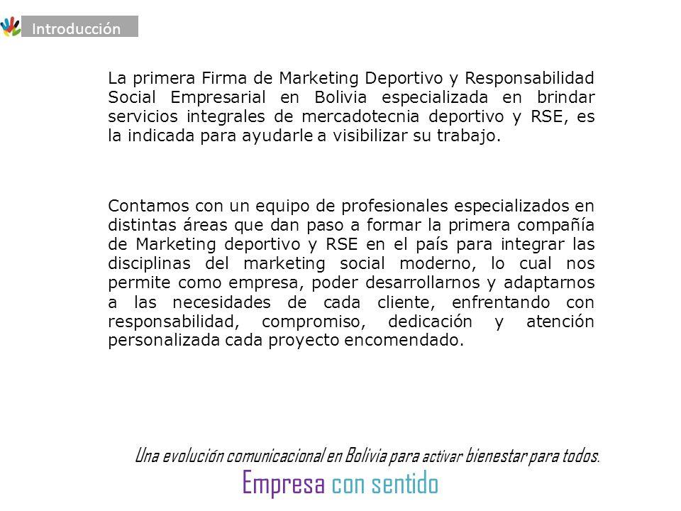Una evolución comunicacional en Bolivia para activar bienestar para todos.