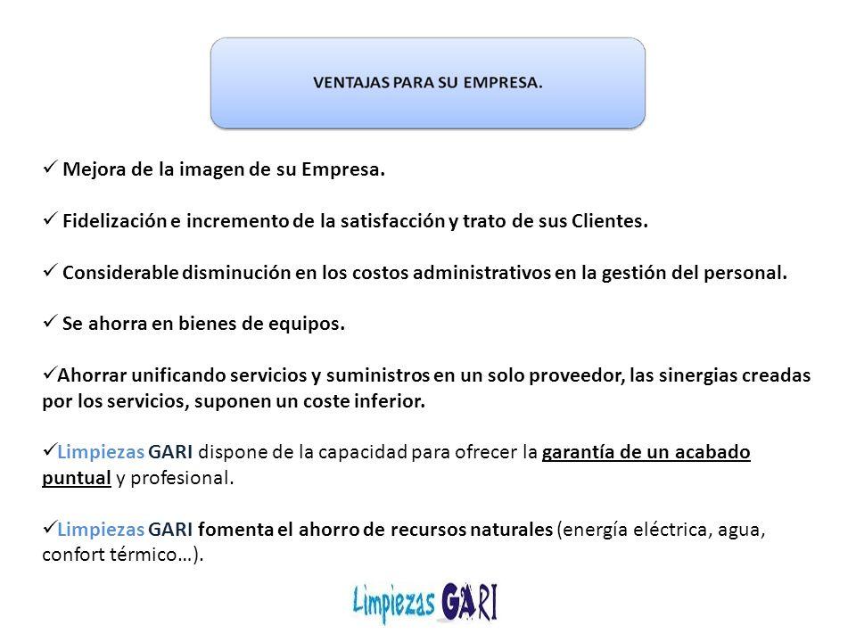 Limpiezas GARI pone a disposición de todos nuestros clientes una póliza de seguro de Responsabilidad Civil para eximirles de cualquier eventualidad.