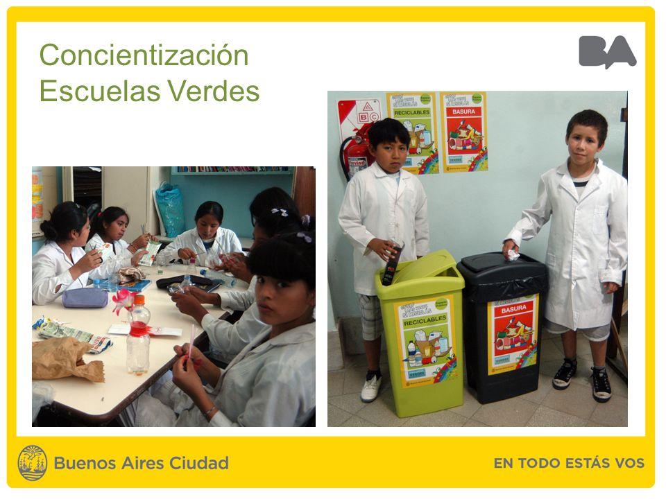 Concientización Escuelas Verdes