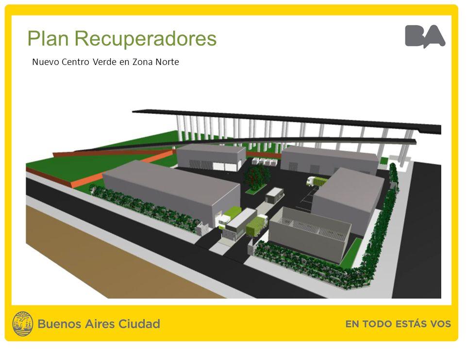 Plan Recuperadores Nuevo Centro Verde en Zona Norte