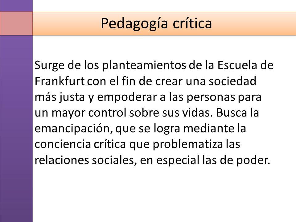 Exponentes de la pedagogía crítica Paulo Freire Henry Hiroux Michael Apple Pedagogos de la Educación Popular en América Latina