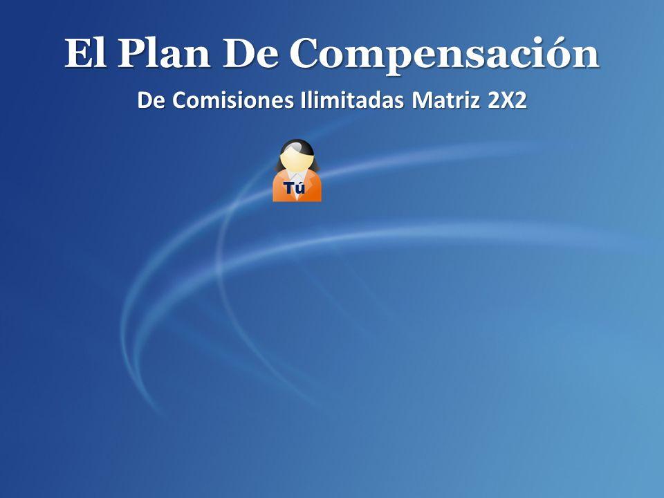 El Plan De Compensación De Comisiones Ilimitadas Matriz 2X2 Tú