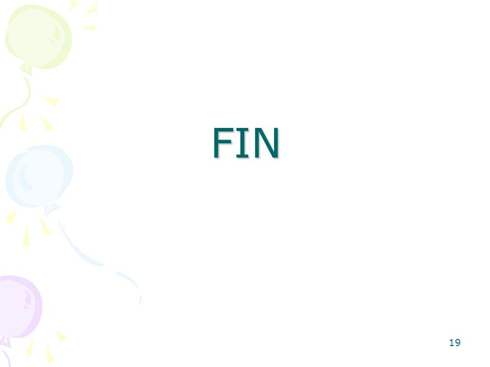 19 FIN