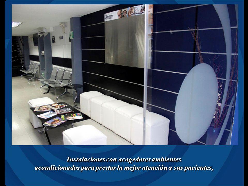 Instalaciones con acogedores ambientes acondicionados para prestar la mejor atención a sus pacientes, Instalaciones con acogedores ambientes acondicionados para prestar la mejor atención a sus pacientes,