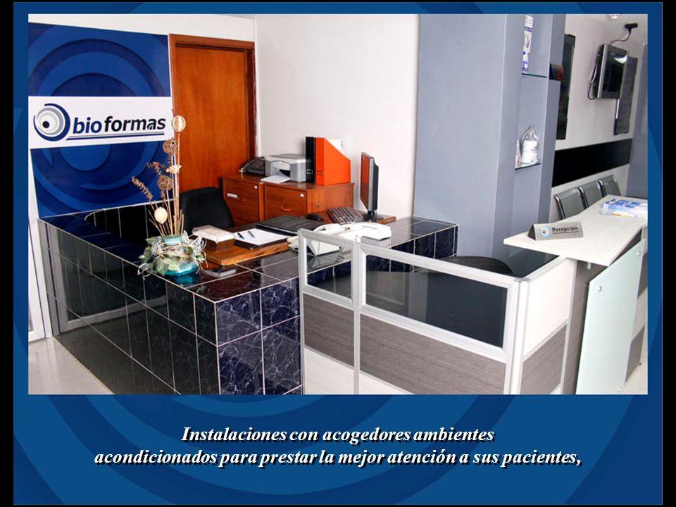 Instalaciones con acogedores ambientes acondicionados para prestar la mejor atención a sus pacientes, Instalaciones con acogedores ambientes acondicio