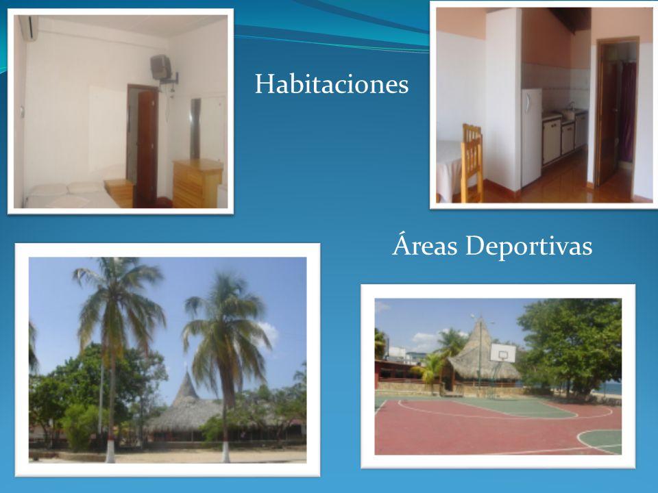 Habitaciones Áreas Deportivas