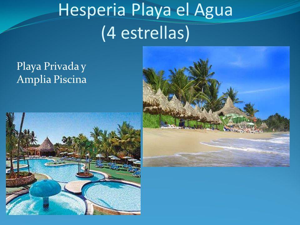 Playa Privada y Amplia Piscina Hesperia Playa el Agua (4 estrellas)