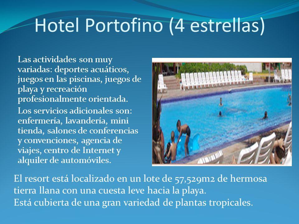 Las actividades son muy variadas: deportes acuáticos, juegos en las piscinas, juegos de playa y recreación profesionalmente orientada.