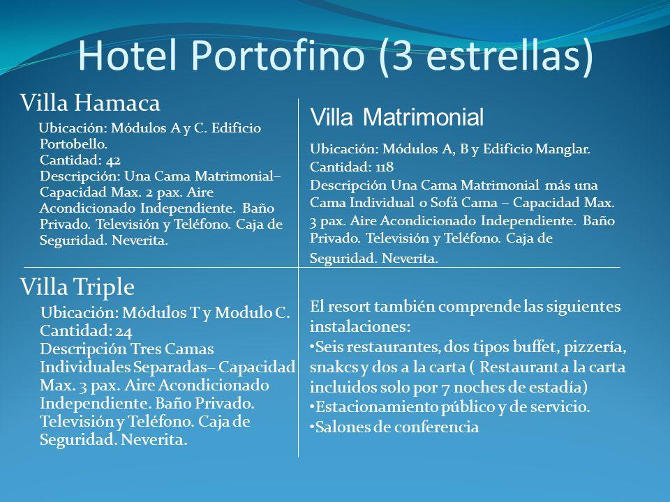 Villa Hamaca Ubicación: Módulos A y C. Edificio Portobello.