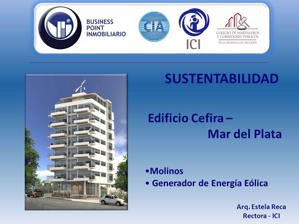 Molinos Generador de Energía Eólica Arq.