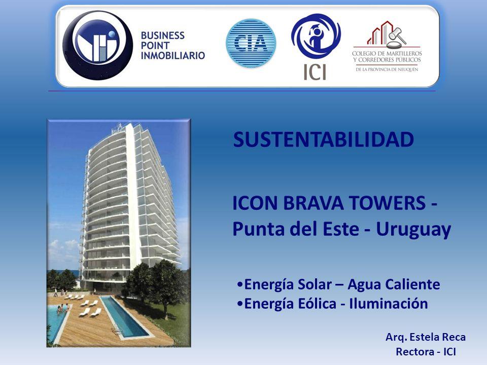 Energía Solar – Agua Caliente Energía Eólica - Iluminación Arq.