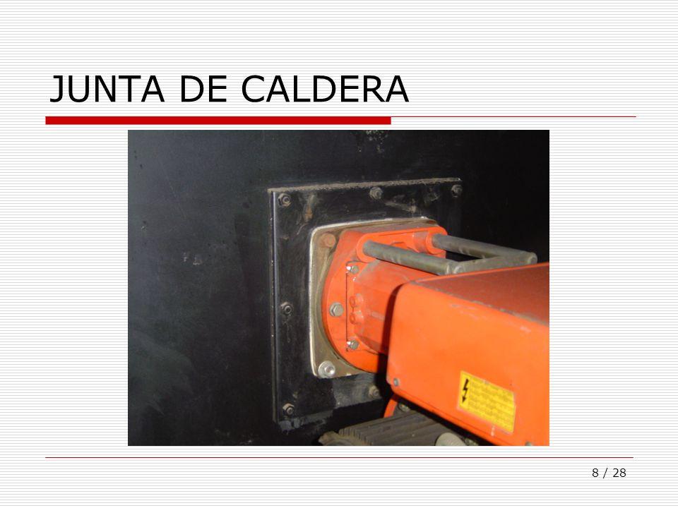 8 / 28 JUNTA DE CALDERA