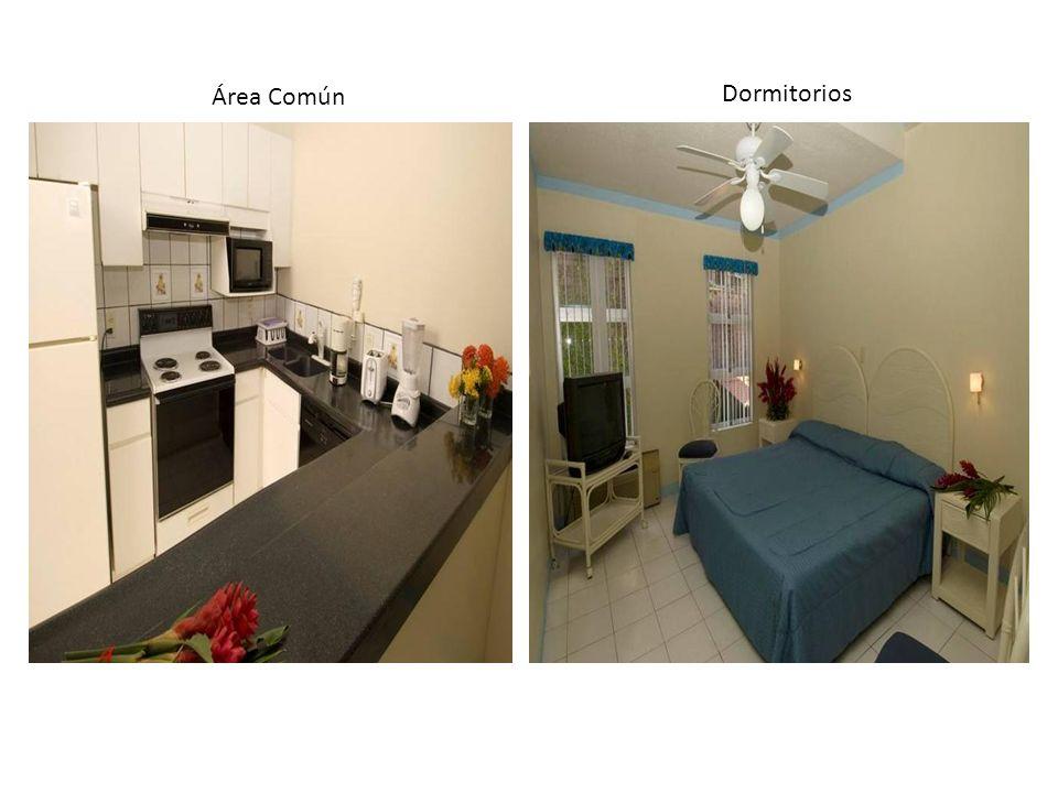 Área Común Dormitorios