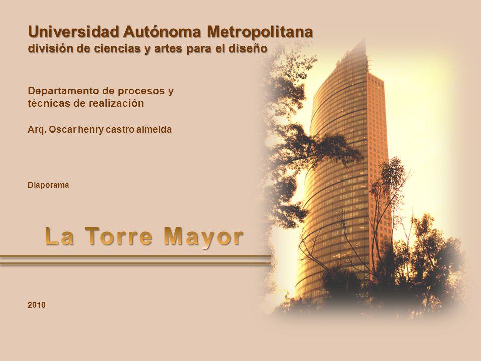 Universidad Autónoma Metropolitana división de ciencias y artes para el diseño Departamento de procesos y técnicas de realización Arq. Oscar henry cas
