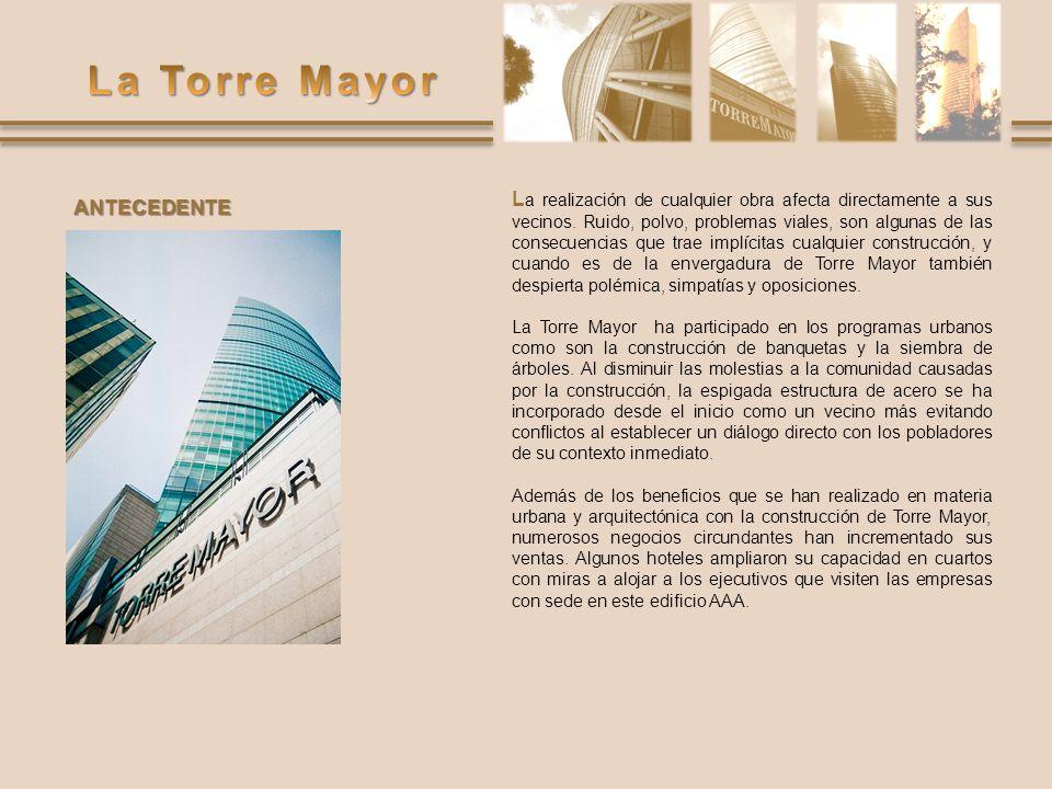 M uchos son los temas de interés que se desprenden del análisis de esta torre, cuyo objetivo principal es ofrecer en renta espacios para oficinas de clase mundial, donde la calidad de los servicios incide sustancialmente en el ahorro de energía para reducir los costos operativos.